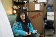 Nicole Dupuis est l'une des grévistes chez Delastek... (Sylvain Mayer) - image 2.0