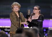 Debbie Reynolds et Carrie Fisher lors de la... (Photo Vince Bucci, ARCHIVES Invision/AP) - image 2.1