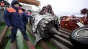 D'autres débris du Tupolev 154 ont été récupérés... (AP) - image 2.0