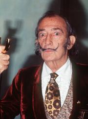 Salvador Dali (1904-1989) avait été diagnostiqué de la... (Photo AFP) - image 2.0