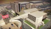 Les plans du projet de l'hôtel Delta.... - image 10.0