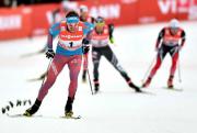 Le Russe Sergey Ustiugov a remporté l'épreuve, devançant... (AFP) - image 1.0