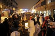 Malgré le temps froid, les participants étaient bien... (- Photo Le Quotidien, Gimmy Desbiens) - image 1.0