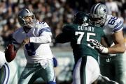 Tony Romo a lancé sa première passe de... (AP, Michael Perez) - image 11.0