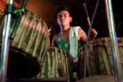 Un batteur au festival, àYangon, au Myanmar... (Photo Jonathan B. Roy, collaboration spéciale) - image 1.1