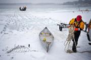 Les plongeurs de la SQ ont récupéré le... (Patrick Sanfaçon, La Presse) - image 1.0