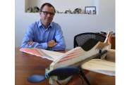 Le directeur général d'Atlas Aeronautik, Serge Audet... (Janick Marois, archives La Voix de l'Est) - image 6.0