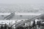 Chicoutimi sous la neige... (Photo Le Quotidien, Rocket Lavoie) - image 1.0