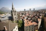 Vue du centre-ville historique de Grenoble.... (PHOTO FOURNIE PAR LA VILLE DE GRENOBLE) - image 1.1