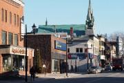Une portion du centre-ville de Granby... (Alain Dion, archives La Voix de l'Est) - image 8.0