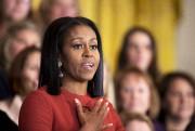 Michelle Obama livre son dernier discours en tant... (AP) - image 3.0