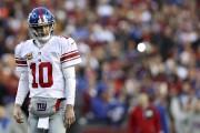 Le quart des Giants, Eli Manning.... (AFP) - image 1.0