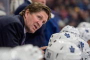 L'entraîneur des Leafs Mike Babcock... (Photo Liam Richards, archives PC) - image 1.0