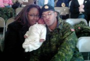 Lionel Desmond, en compagnie de sa femme et... (Photo archives La Presse Canadienne) - image 1.0
