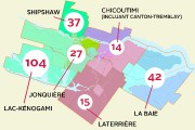 Répartition des chemins de tolérance à Saguenay... (Ville de Saguenay, Infographie Le Progrès-Dimanche) - image 2.0