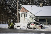 La victime, un homme de 40 ans, prenait... (Olivier Croteau) - image 1.0