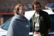 Karine Vanasse sur le plateau de tournage du... (PHOTO OLIVIER PONTBRIAND, ARCHIVES LA PRESSE) - image 8.0