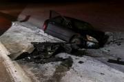 L'un des véhicules s'est retrouvé dans le fossé,... (Janick Marois, La Voix de l'Est) - image 1.0
