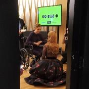 Andréanne Sasseville avec Céline Dion au gala de... (Photo tirée de Twitter) - image 3.0