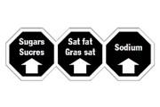 Quatre logos sont à l'étude par Santé Canada,... (Image fournie par Santé Canada) - image 2.0