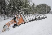 Un camion lourd est entré en collision avec... (Le Quotidien, Gimmy Desbiens) - image 1.0