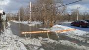 La rivière Saint-François est sortie de son lit... (photo spectre média, Maxime Picard) - image 1.0
