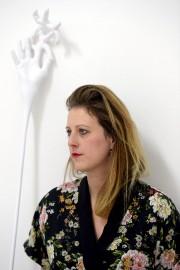 L'artiste Valérie Potvin... (Le Soleil, Erick Labbé) - image 7.0