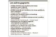 Pour ce 35e anniversaire du Gala Sport Hommage-Mauricie, de nouvelles... - image 2.0