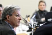 Le maire Tremblay a justifié l'acquisition du terrain... (Photo Le Quotidien, Michel Tremblay) - image 1.0