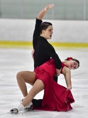 Vanessa Chartrand, avec son partenaire en danse Alexander... (Courtoisie) - image 2.0