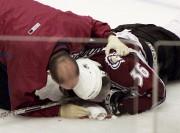 Le 8 mars 2004, Steve Moore, de l'Avalanche... (Photothèque Le Soleil) - image 5.0