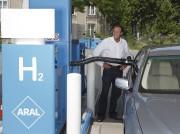 Une station de recharge d'hydrogène à Berlin, à... - image 5.0