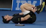 Andy Murray s'est fait une petite frayeur en... (AP, Dita Alangkara) - image 2.0