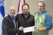 Jean-Denis Girard, député de Trois-Rivières, a remis le... - image 6.0