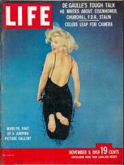 Couverture du magazineLIFEavec le portrait de Marilyn Monroe,... (Archives Philippe Halsman, Magnum Photos) - image 10.0