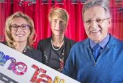 Louise Blanchette, présidente de Zone Talbot; Guylaine Vézina;directrice... (Photo Le Quotidien, Rocket Lavoie) - image 1.0
