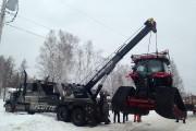 L'équipement a ensuite été soulevé et placé sur... (Photo courtoisie) - image 1.0