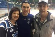 Les parents d'Antoine Marcoux, Diane Samson et Alain... (Courtoisie) - image 3.0