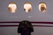 L'ex-président de la Gambie Yahya Jammeh quitte le... (AFP) - image 2.0