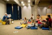 L'espace enfant de la Grande Bibliothèque de Montreal,... (Photo Marco Campanozzi, La Presse) - image 2.0