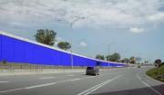 Bleu de Bleu, 2017, maquette du projet d'oeuvre... (Photo fournie par l'artiste) - image 2.0