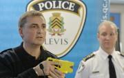 Le policier et moniteurMarc Juneau a expliqué l'«effet... (Le Soleil, Pascal Ratthé) - image 2.0