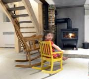 Madeleine, quatre ans, profite du sous-sol même si... (Le Soleil, Jean-Marie Villeneuve) - image 2.0