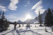 Des skieuses bien équipées et habillées chaudement partent... (La Presse, Yannick Fleury) - image 3.0