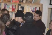 L'auteur de l'entartage serait l'homme au bonnet noir,... (fournie par La Vie agricole, Yannick Patelli) - image 2.0