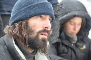 Sébastien Renaudeau à sa sortie de la forêt,... (Photo Guillaume Roy, collaboration spéciale) - image 2.0