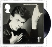 Le timbre montrant la pochette de Heroes... (Photo fournie par laposte royale britannique) - image 1.0