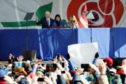 Le vice-président américain a donné son allocution devant... (PHOTO Yuri Gripas, REUTERS) - image 1.0