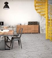 L'effet terrazzo, bardeau, géométrique, béton, marbre et bois... (Céragrès) - image 1.1