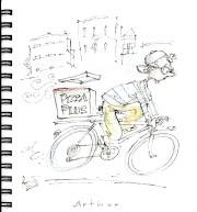Jacques Goldstyn a amorcé la création de croquis... (Illustration Jacques Goldstyn) - image 5.1
